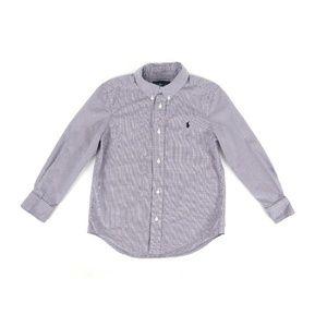 RALPH LAUREN shirt, boy's size 6